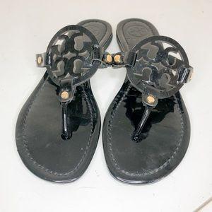 Tory Burch Black Thong Sandals